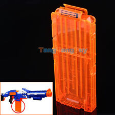 4pcs Quick Reload Clip System Darts for Toy Gun Nerf N-Strike Blaster in Loose