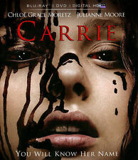 Carrie (Blu-ray/DVD, 2014, 2-Disc, Includes Digital Copy; UV) BRAND NEW, SEALED