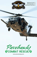 WW Decals 35-07 1/35th M/HH-60G Pavehawk-Combat Rescue