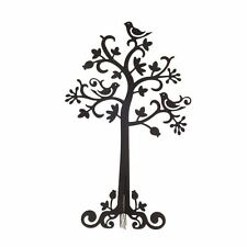 NEW LARGE BLACK METAL JEWELLERY TREE STAND DISPLAY HOLDER