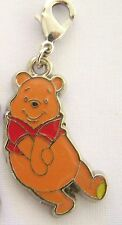 WINNIE THE POOH Bear  Clip On Charm FOR Bracelet key ring zipper necklace