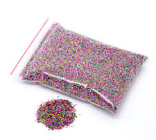 25g Mixed No Hole Micro Beads Caviar Manicure, Crafts. Free UK postage
