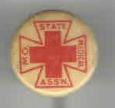 Early 1900s pin Missouri State MEDICAL Assn Stickpin Doctor MEDICINE Physician