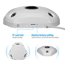 1.3Mp Network CCTV Camera Fisheye Panoramic VR IP WIFI Wireless 360 Degree