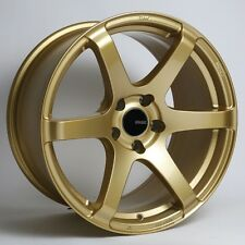 17x8 Enkei T6S 5x100 +45 Gold Wheel (1 Rim only)