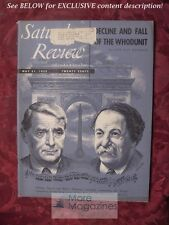 SATURDAY REVIEW May 31 1952 CHARLES MUNCH PIERRE MONTEAUX BOSTON SYMPHONY