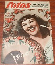 FOTOS 1949 spanish magazine Chelo de Mexico Clark Gable Real Madrid Futbol Toros