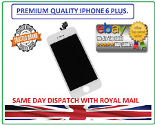 New LCD Screen Touch White Digitizer Frame Assembly For iPhone 6 Plus 5.5''UK