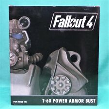 "Fallout 4 T-60 Power Armor Bust 6.5"" Poly Resin Statue Figure NIB Bethesda"