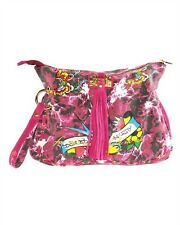 BN Authentic Ed Hardy Barbara Clutch Handbag
