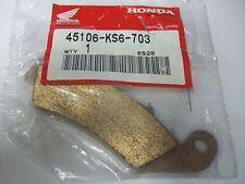 NEW OEM BRAKE PAD NOS HONDA CR125 CR250 CR500 CR 125 250 500 XR250 XR600 XR 250