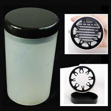Nail Art Tip Brush Holder Remover Cup Immersion Brush Cleaner Bottle