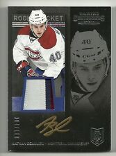 2013-14 Panini Contenders Rookie Ticket NATHAN BEAULIEU Patch Autograph #84/100
