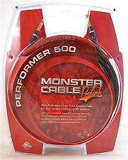 "Monster Cable Prolink Performer 500 Speaker 1/4"" Male Plugs 40' Guitar Amp PA ft"
