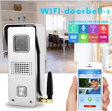 WIFI IP Network Video Door Bell Audio Smart Peephole HD Intercom Camera Doorbell
