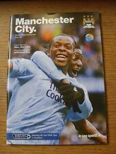 05/04/2008 Manchester City v Chelsea  (Faint Mark On Back)