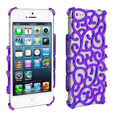 Electroplating Hollow Chrome Pattern Design Case for iphone4 or 5 or Samsung S3