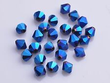 Wholesale 500pcs 4mm Crystal Glass Faceted Loose Bicone Beads Lot 5301# Shape