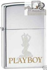 Zippo 6808 playboy bunny chrome Lighter with PIPE INSERT PL