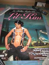 LIL KIM-(la bella mafia)-1 POSTER-18X24-NMINT-RARE