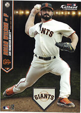 BRIAN WILSON SAN FRANCISCO GIANTS FATHEAD TRADEABLE 2011 REMOVABLE STICKER #7