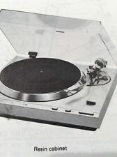Pioneer PL-500 Turntable Original Owners Manual  pl500 Instructions