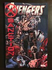 Avengers X-Sanction TPB 2012 Marvel Comics Cable X-Men softcover graphic novel