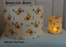 Nouveau abat-jour fait main & Lanterne Disney Winnie l'ourson Tissu enfant nurserie