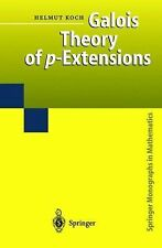 Galois Theory of P-Extensions by Helmut Koch (2010, Paperback)