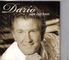 Dario-Niet Een Keer cd single