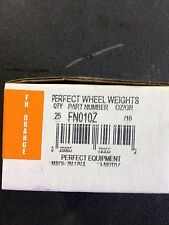 WHEEL TIRE PERFECT CLIP ON ZINC COATED FN010Z GRAMS WHEEL  WEIGHTS