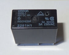 1 pc. Relay 12V coil, 5A contact, SPDT, By Omron, P/N G5SB112DC.