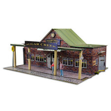 1/64 Slot Car HO Train Station Photo Real Kit Architecture Miniature Sets Layout