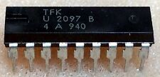 1 pc. U2097B   TFK  Bar-Graph Display Driver  DIP18  NOS
