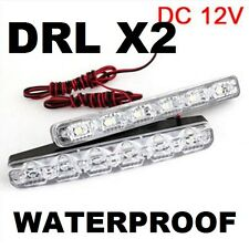 LED Daytime Running Driving Light DRL Fog Lamp Mazda Honda Toyota BMW Audi