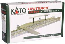 KATO N Scale 1/150 : 23-141 UNITRACK UNITRAM LRT Low PlatformSet JAPAN F/S J7298