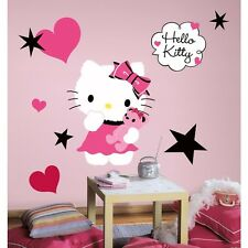 New HELLO KITTY COUTURE GIANT 13 WALL DECALS Mural Stickers Girls Room Decor