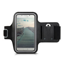 kwmobile Armband für Samsung Galaxy A3 (2016) Schwarz Sport Tasche Joggen Case