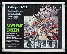 SOYLENT GREEN * CineMasterpieces MOVIE POSTER SCI FI 1973 SCIENCE FICTION