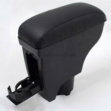 For Toyota Vitz Yaris Belta 2005-2011 4dr 5dr Leather Car Center Console Armrest
