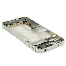 For iPhone 4S Silver Middle Frame Plate Board Bezel Housing With Parts Assembly