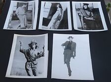 Vtg 1986 1987 lot of 5 ELEANOR P. BRENNER press promo model fashion photos 8x10