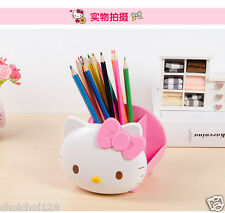Hello Kitty Head Pen Pencil Makeup Holder Case KK792