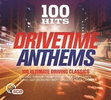 100 HITS-DRIVETIME ANTHEMS New Digipack Edition 5 CD NEU MEAT LOAF/EUROPE/TOTO