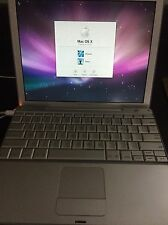 Apple PowerBook G4,  1.33Ghz, 1.25GB ram