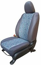 For Tata Safari - Car Seat covers - Jacquard Fabric - High Quality - Grey