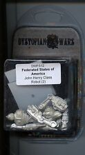 Dystopian Wars Federated States of America John Henry Class Robot (2) MINT