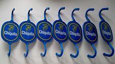 7 alte Chiquita Bananenhaken aus Plastik