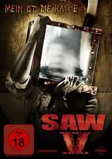 SAW V -  (2009) FSK 18 MEIN IST DIE RACHE LIONSGATE MOVIE DVD FILM TOP SAW REIHE