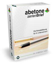 Abetone - Software zum Erstellen von Serienbriefen - Download-Version